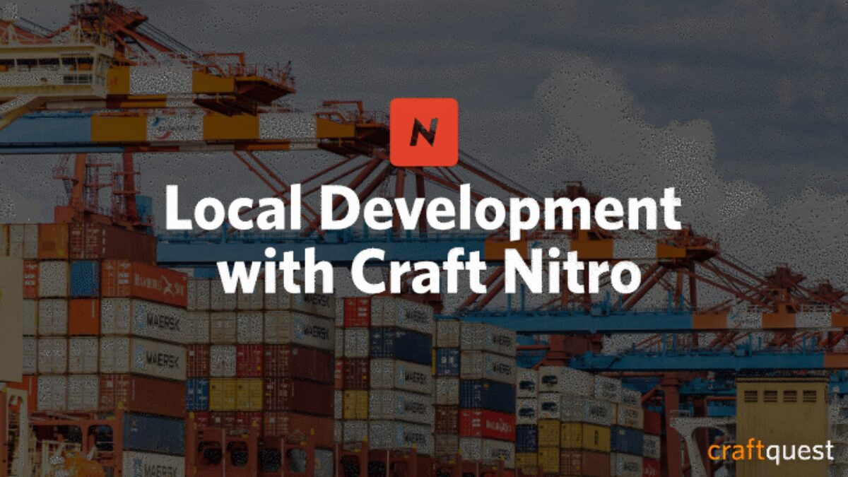 Local development craft nitro 720
